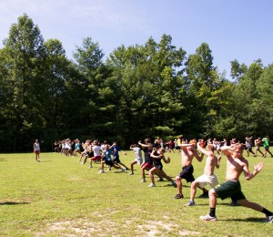 Cross Country Core Strength Work