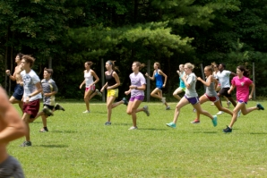 Wide Open Cross Country Camp Runners